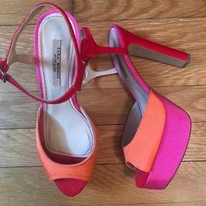 Zara Platform Heels, Size 7